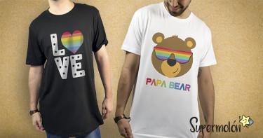 Camisetas para lucir con orgullo
