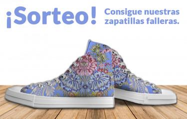 Sorteo de unas fabulosas Zapatillas Falleras!