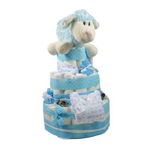 tarta pañal niño