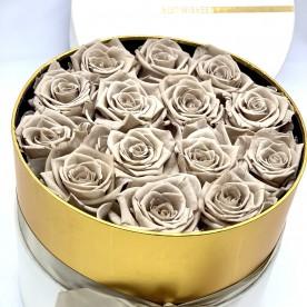 Flores eternas en caja de regalo original