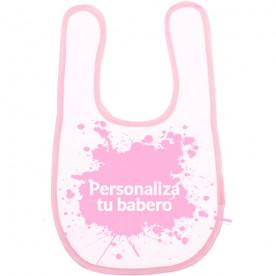 Babero personalizado de bebé para que lo diseñes a tu gusto