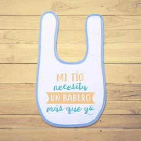 Babero de bebé divertido especial para regalo de un recién nacido.