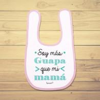 Babero de bebé divertido especial para la mamá.