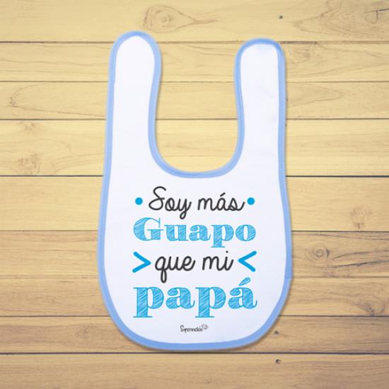 Babero de bebé divertido especial para los papis.