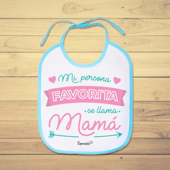 Babero Bebe Personalizado Supermolón Tienda De Regalos Para Bebés