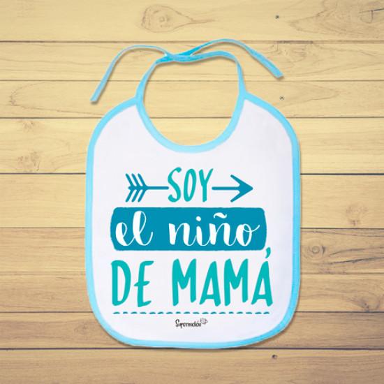 Babero personalizado de bebé para decirle a mamá cuánto la quieres