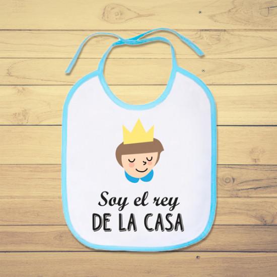 Babero personalizado para el bebé de la casa