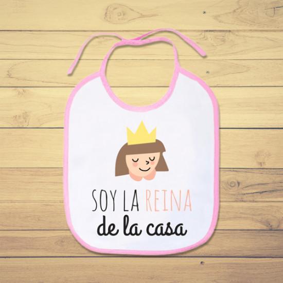 Babero personalizado para la bebé de la casa
