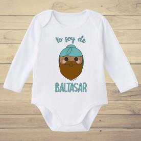 Divertido body de bebé de manga corta/larga 100% algodón, perfecto para regalar en Navidad al bebé de la casa.