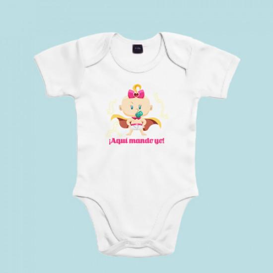 Body súper bebé niña - Supermolón - Aquí mando yo e1b3a39896b6