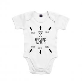 Body manga corta/larga 100% algodón de bebé para alegrar el día a cualquier familiar de la casa.