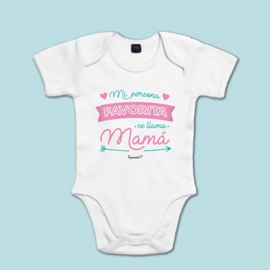 Body manga corta/larga 100% algodón de bebé para decirle a mamá cuánto lo quieres