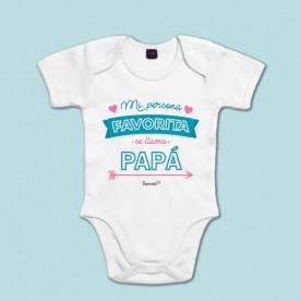 Body manga corta/larga 100% algodón de bebé para decirle a papá cuánto lo quieres