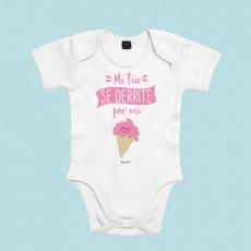 Body para bebé personalizado, ideal para regalar a tu sobrino. Por que te derrites cuando ves a tu sobrino, y lo sabes, regálale este body de bebé original.