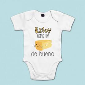 Body bebé de algodón de manga corta/larga para bebé de varios colores
