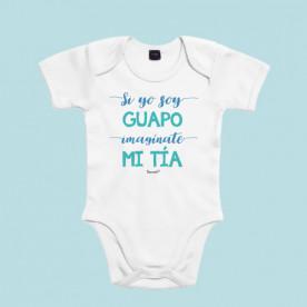 Body para bebé personalizado, ideal para regalar a tu sobrino. Por que los dos sois muy guapas, regálale este body de bebé original.