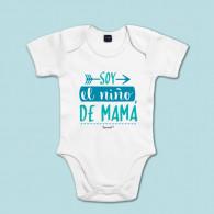 Body de algodón de manga corta/larga para bebé para decirle a mamá cuánto la quieres