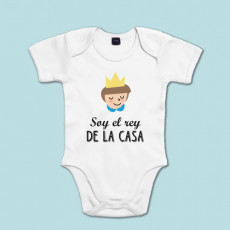 Body de algodón de manga corta/larga para el bebé de la casa