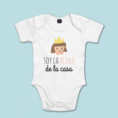 Body de algodón de manga corta/larga para la bebé de la casa