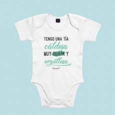 Body de bebé divertido, ideal para regalar a tu sobrin@. ¡Siéntete orgullosa!