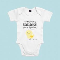 Body divertido para bebé de manga corta/larga 100% algodón, para hacer reír a mamá