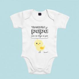 Body bebé divertido de manga corta/larga 100% algodón, para hacer reír a papá