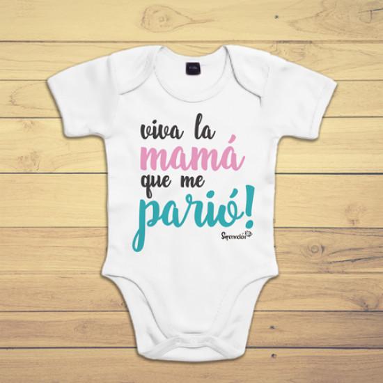 Body de manga corta/larga para bebé de algodón. Elige tu color, blanco, rosa, azul o negro
