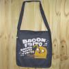 """Bolso de tela """"tote bag"""" de algodón orgánico reciclado con dibujo de Jake hora de aventuras"""