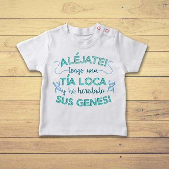 Camiseta de bebé para regalar a tu sobrin@