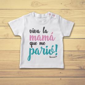 Divertida camiseta infantil de manga corta para bebé