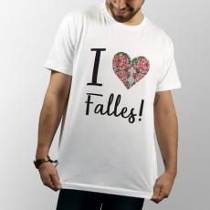 Camiseta de manga corta especial para las fallas de valencia y para los falleros
