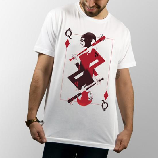 Camiseta de manga corta con imagen de Harley Quinn del Escuadrón Suicida