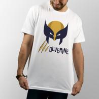 Camiseta de manga corta unisex con diseño de Lobezno de X-Men