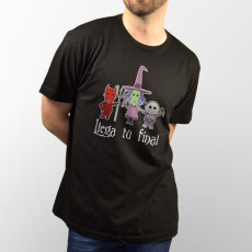 Camiseta para Halloween unisex de manga corta. Perfecto como disfraz en Halloween!