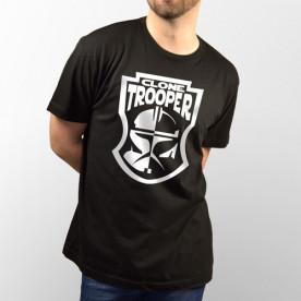 Camiseta para chico y chica de manga corta con dibujo de Clone Trooper de Star Wars