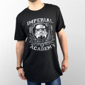 Camiseta para chico y chica de manga corta con dibujo del Soldado Imperial de Star Wars