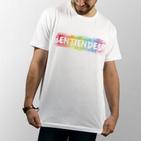 Camiseta manga corta unisex con frase original y directa