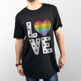 "Camiseta de manga corta unisex para demostrar que eres una persona ""in Love"""