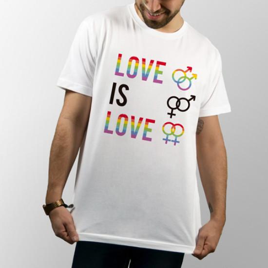 Camiseta unisex de manga corta para cualquier tipo de amor