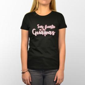 Camiseta manga corta para chica presumida. Porque eres fuerte y sabes que eso es de guapas