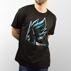 Camiseta Vegeta Superhéroe de Dragon Ball