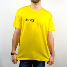 Camiseta amarilla de manga corta unisex de la serie Vis a Vis temporada 3 con Rizos de protagonista