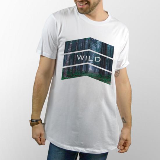 Camiseta unisex manga corta para chico y chica, modelo básico y extra largo