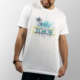 Camiseta para chico y chica de manga corta para verano