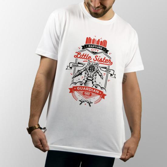 "Camiseta videojuego 2k games ""Bioshock"" de manga corta unisex"