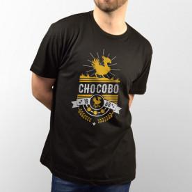 """Camiseta de manga corta unisex del videojuego """"Final Fantasy"""" con el personaje """"Chocobo"""""""