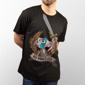 Camiseta para chico y chica de manga corta, modelo básico y extra largo con dibujo de Dobby, el elfo de Harry Potter