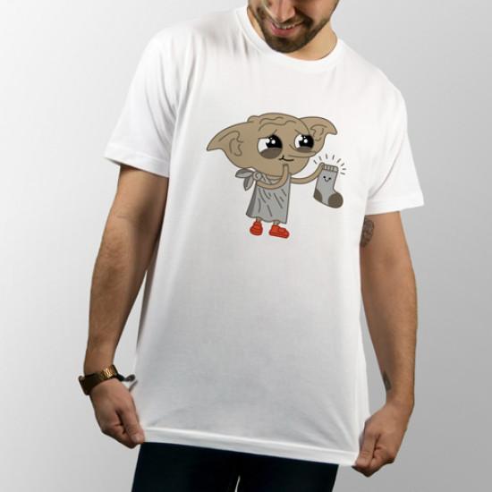 Camiseta de manga corta unisex con dibujo de Dobby, el elfo de Harry Potter