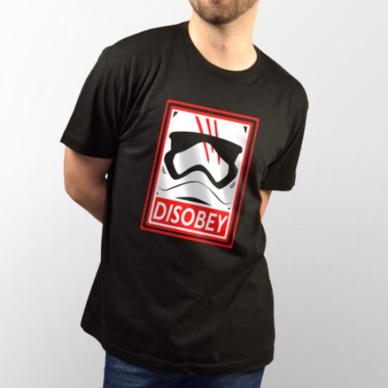 Camiseta para chico y chica de manga corta, modelo básico y extra largo con dibujo del Clone de Star Wars