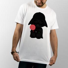 Camiseta unisex del bebé Darth Vader Piruleta
